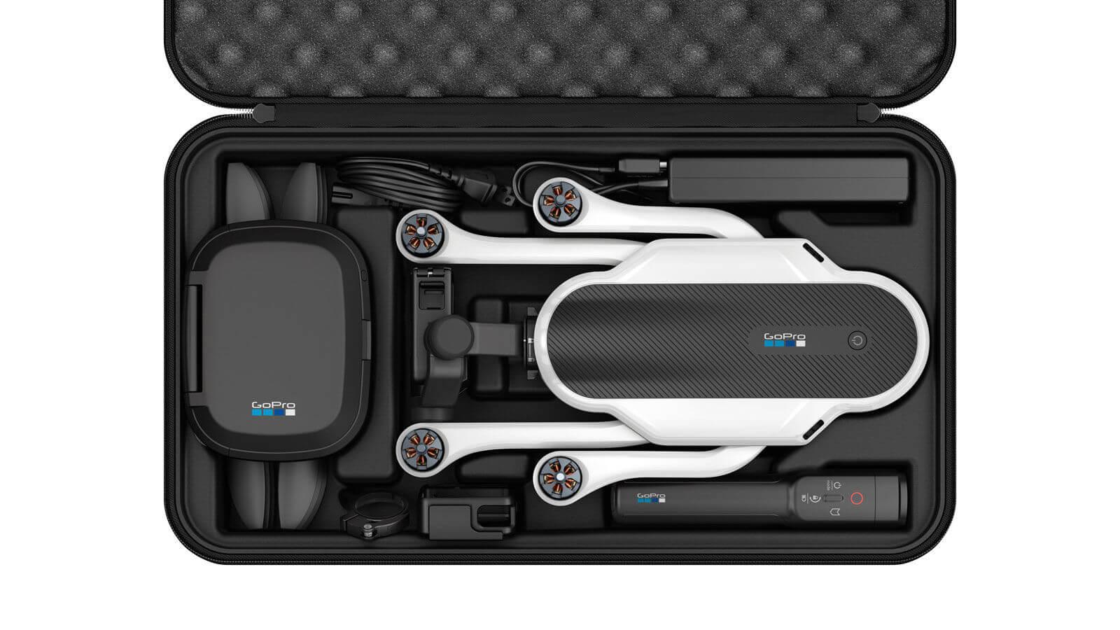 Комплектующие дрона GoPro