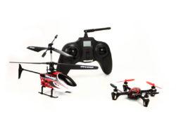 Что лучше выбрать: квадрокоптер или вертолет на радиоуправлении?