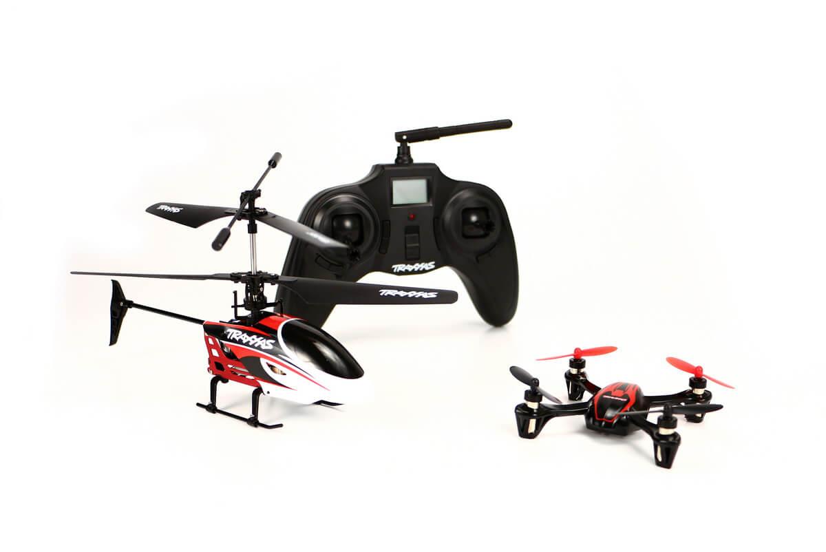 Квадрокоптер или вертолет
