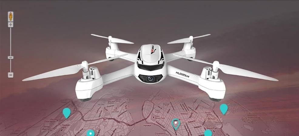 Квадрокоптер с GPS