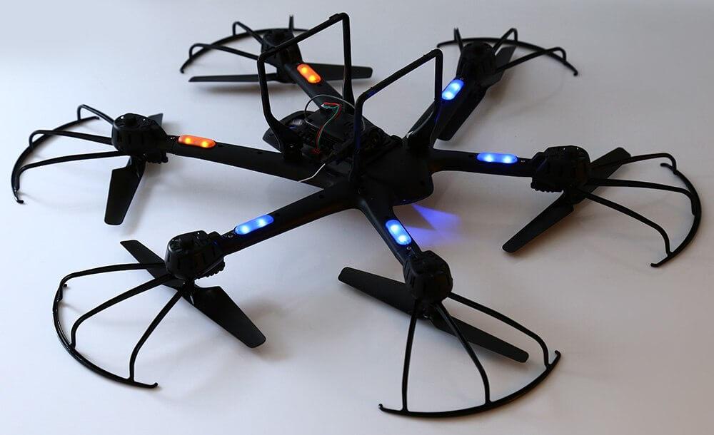 Подсветка дрона