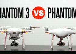 Сравниваем квадрокоптеры DJI Phantom 3 и DJI Phantom 4