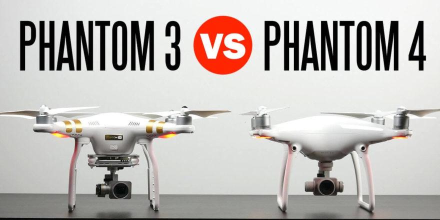 DJI Phantom 3 и DJI Phantom 4