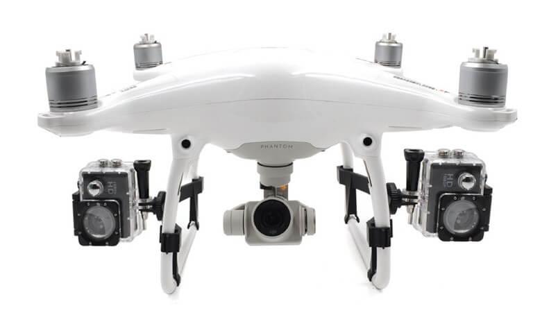 Крепление для GoPro на Phantom