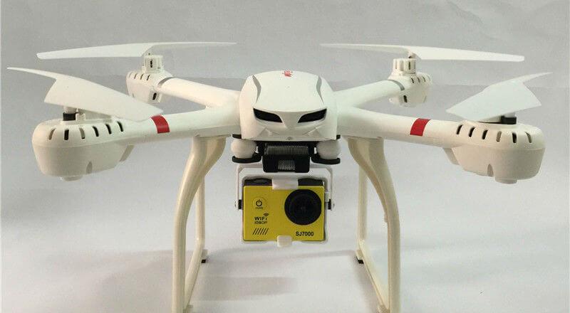 Квадрокоптер для экшн-камеры