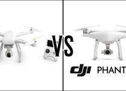 Сравнение Xiaomi Mi Drone 4K и DJI Phantom 4