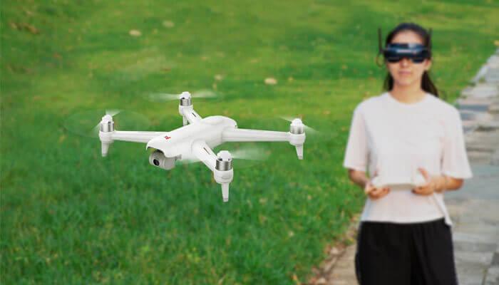 Управление дроном